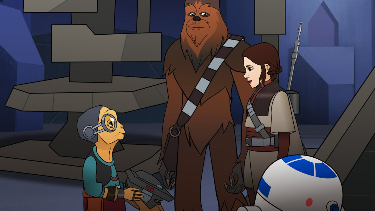 Maz is now part of 'Return of the Jedi' canon.
