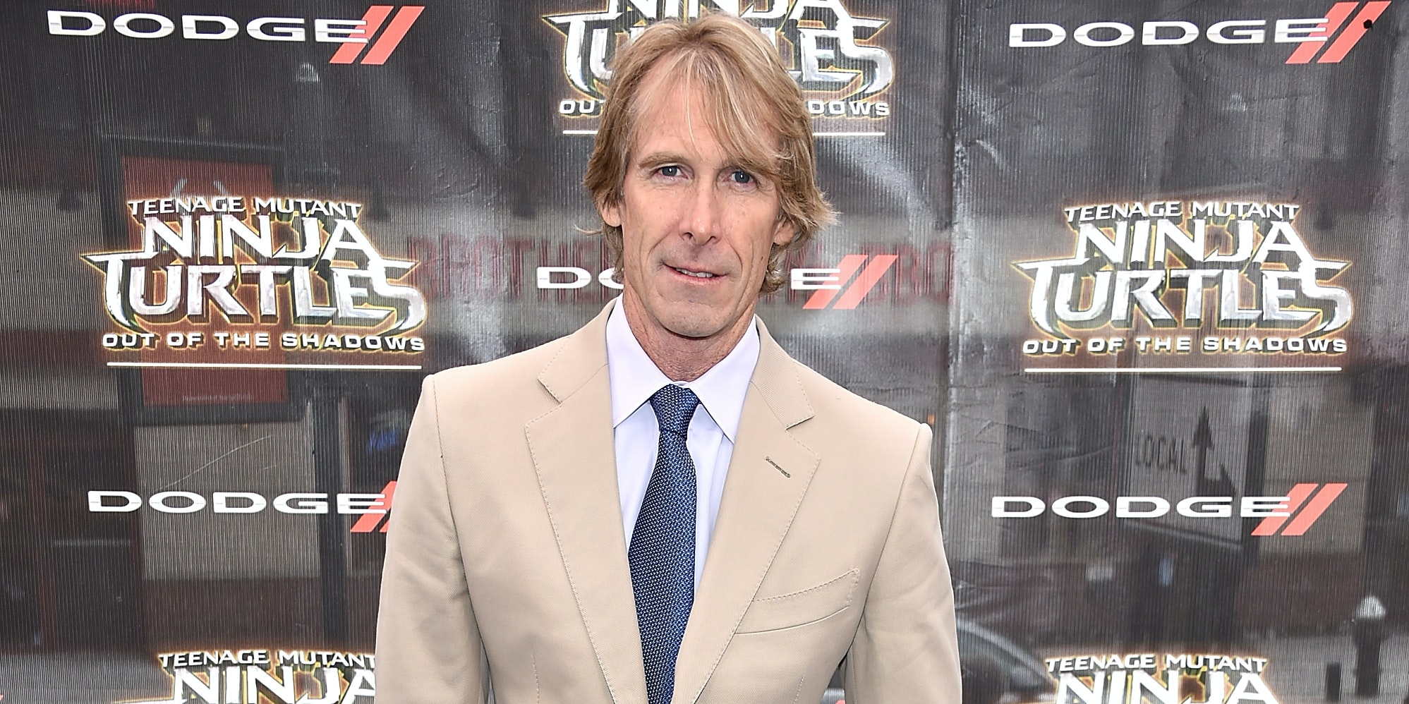 NEW YORK, NY - MAY 22:  Michael Bay attends the 'Teenage Mutant Ninja Turtles: Out Of The Shadows'  World Premiere at Madison Square Garden on May 22, 2016 in New York City.  (Photo by Dimitrios Kambouris/Getty Images)