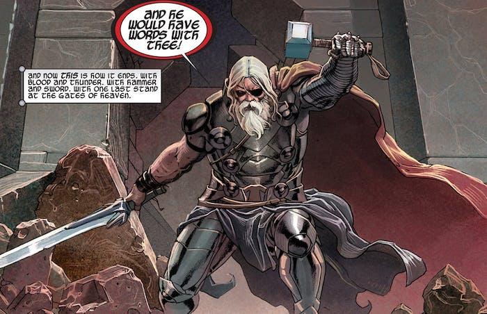 Old King Thor Ragnarok
