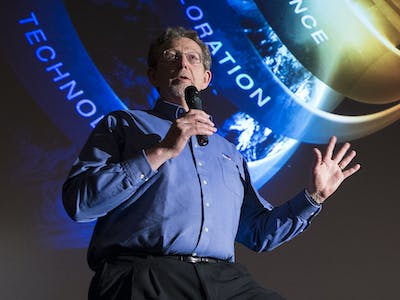 NASA's Dr. Jim Green on 'The Martian' and Colonizing the Red Planet