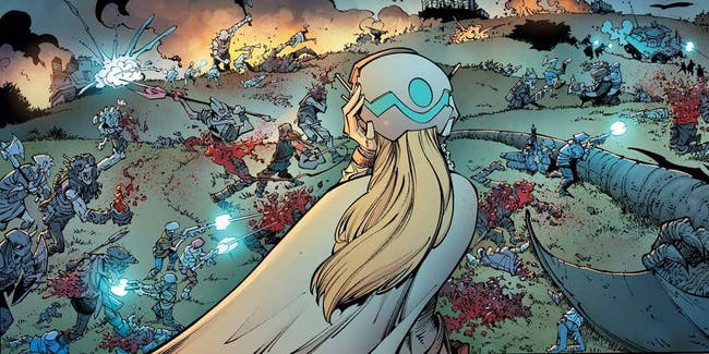 Reborn #1 from Mark Millar, Greg Capull, and Image Comics