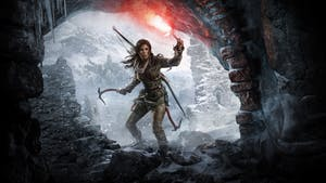 Cover for 'Rise of the Tomb Raider' from Crystal Dynamics and Square-Enix