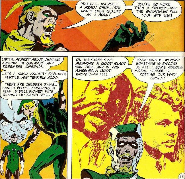 DC Green Lantern Green Arrow