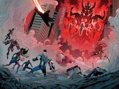 War Machine, Inhumans, and How Marvel's 'Civil War II' Comic Resonates