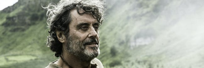 Ian McShane in 'Game of Thrones' and 'American Gods'