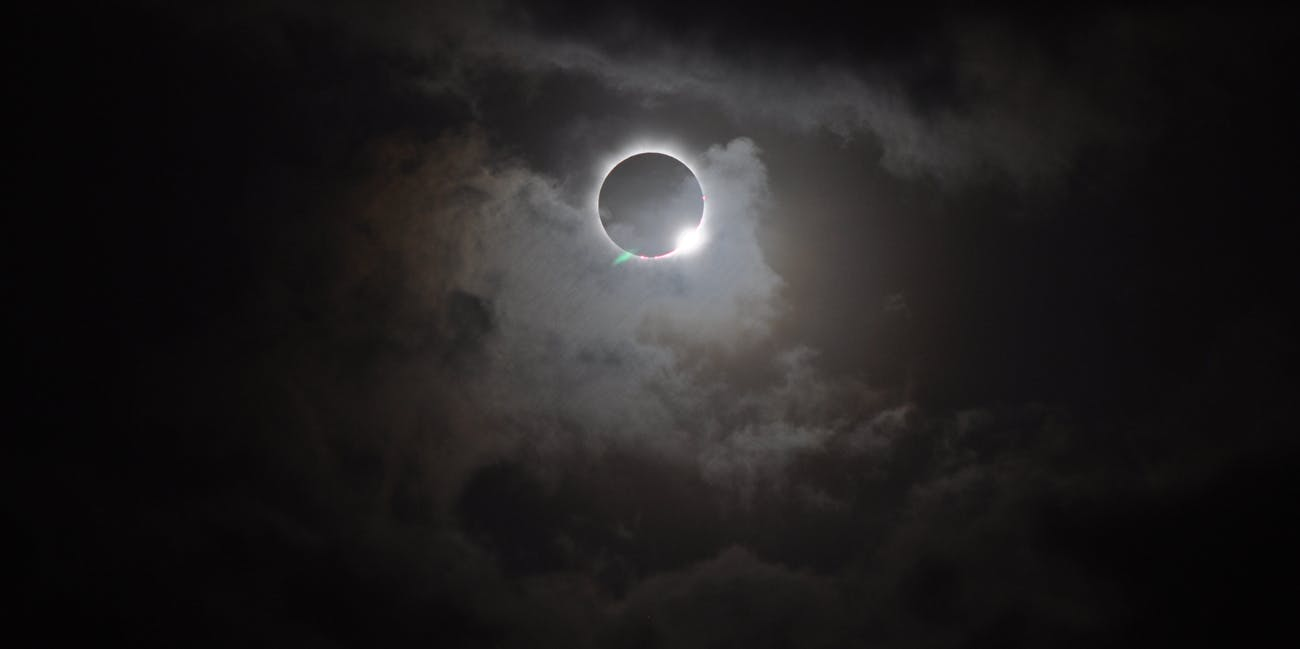Solar Eclipse - November 13, 2012