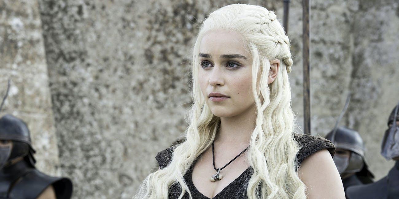 emilia clarke daenerys targaryen dany game of thrones