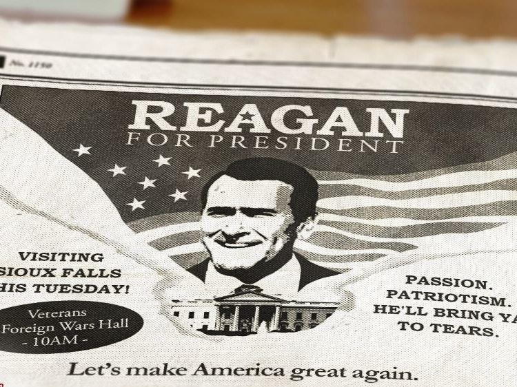 All the Ronald Reagan Movies in Last Night's 'Fargo'