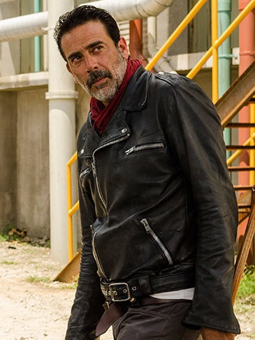 Negan is a bad guy who does bad guy stuff badly.