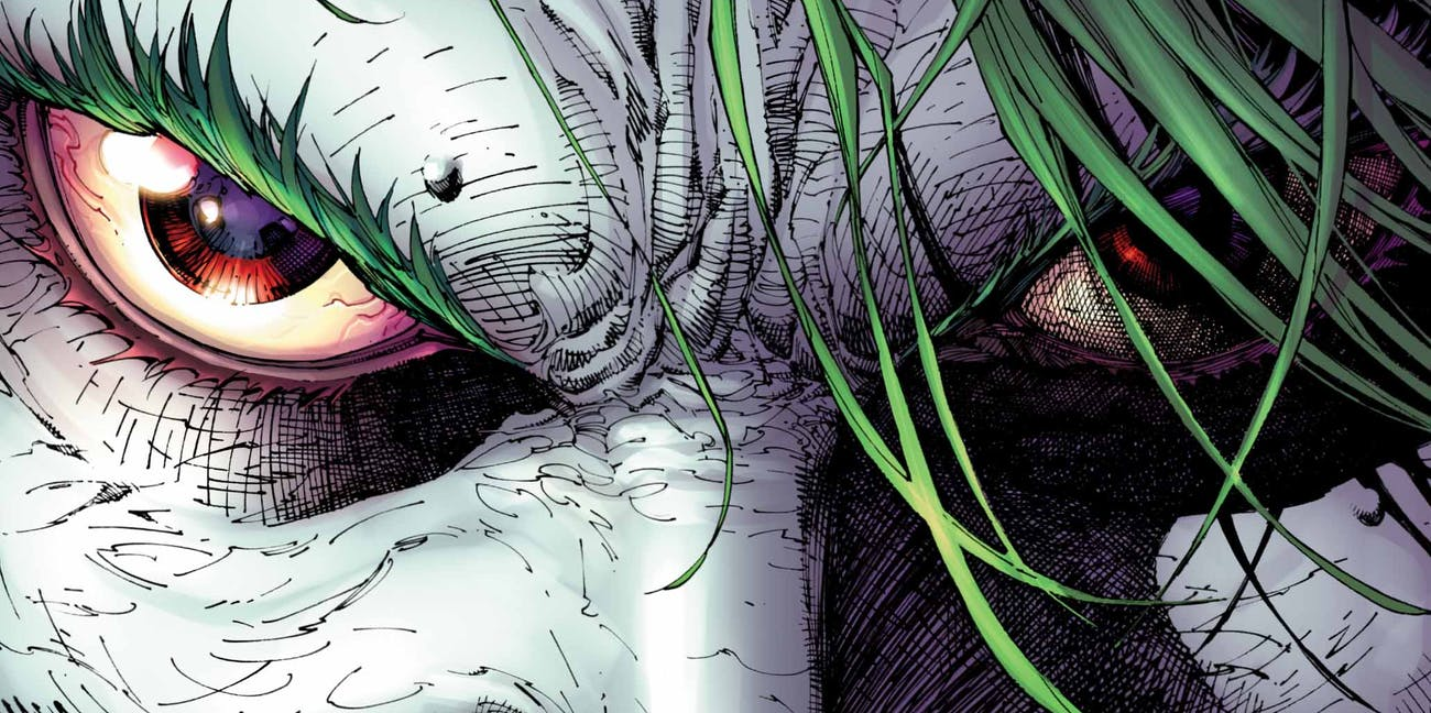 Justice League 8 Joker Variant Jim Lee