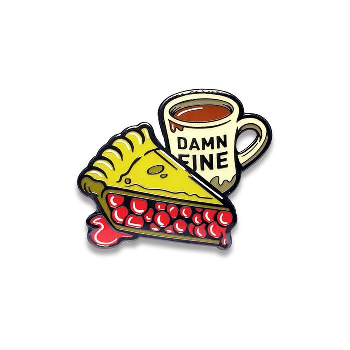 Creepy Co.'s 'Twin Peaks'-inspired pin.