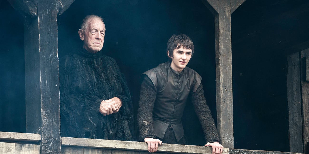 Isaac Hempstead Wright as Bran Stark in 'Game of Thrones'