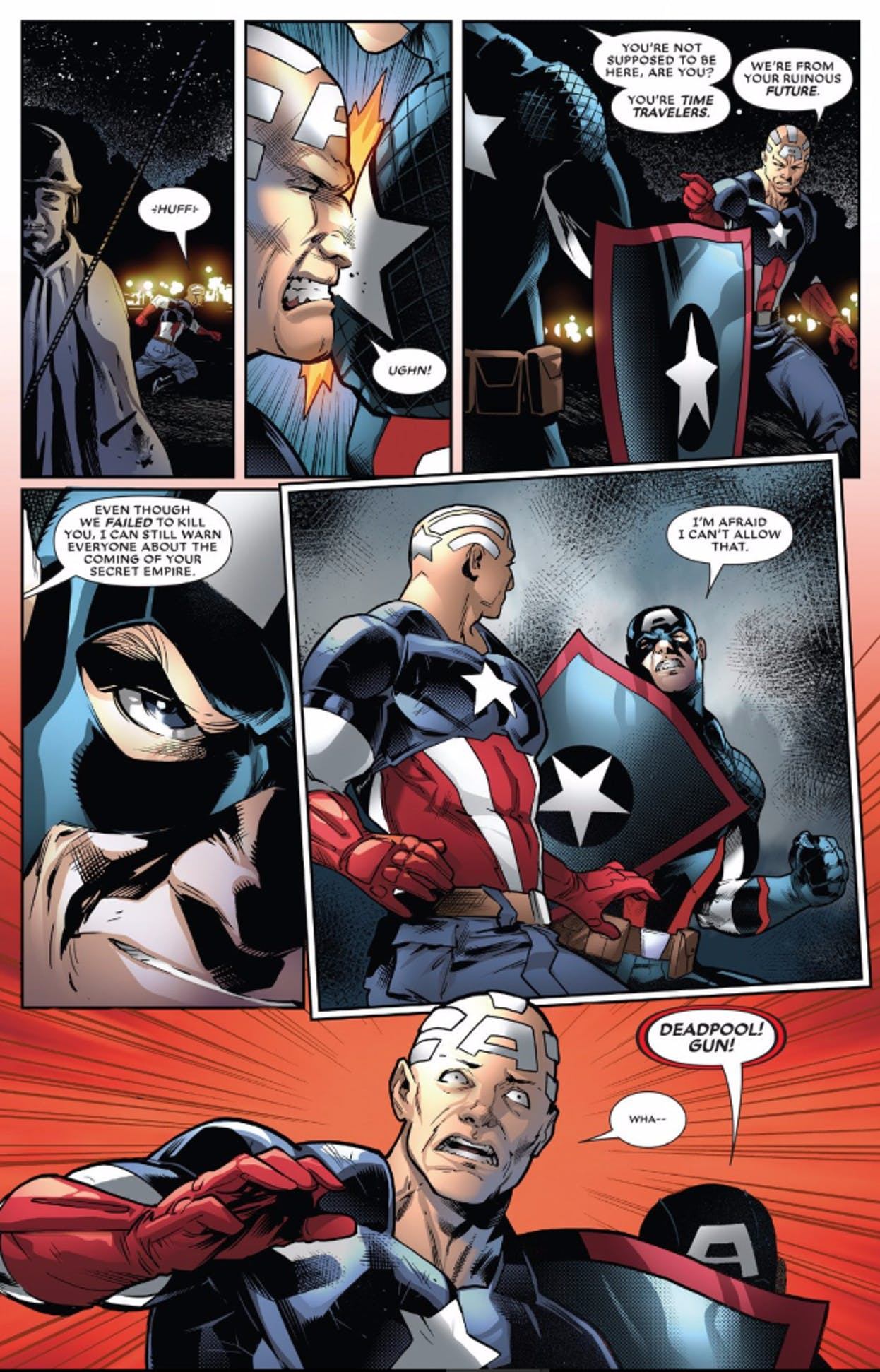 Page from Deadpool #27 from Marvel Comics
