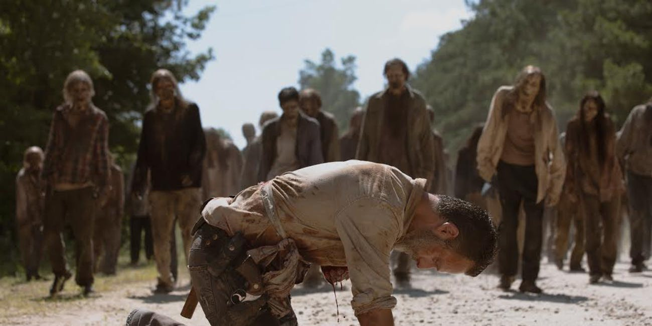 Rick Grimes in 'The Walking Dead'