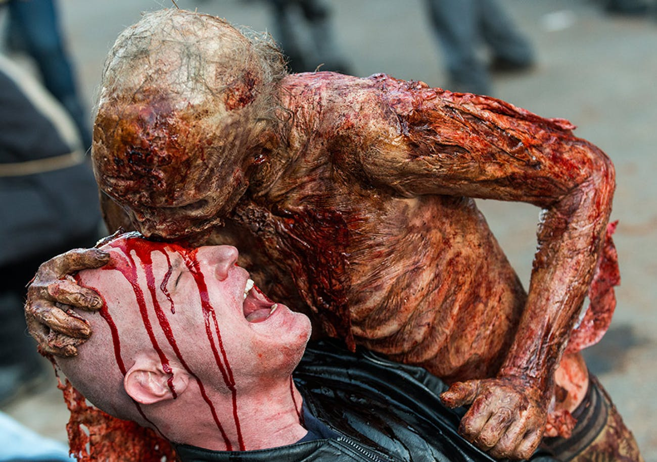 Ironically, the walking dead on 'The Walking Dead' often feel like an afterthought or weapon of war.