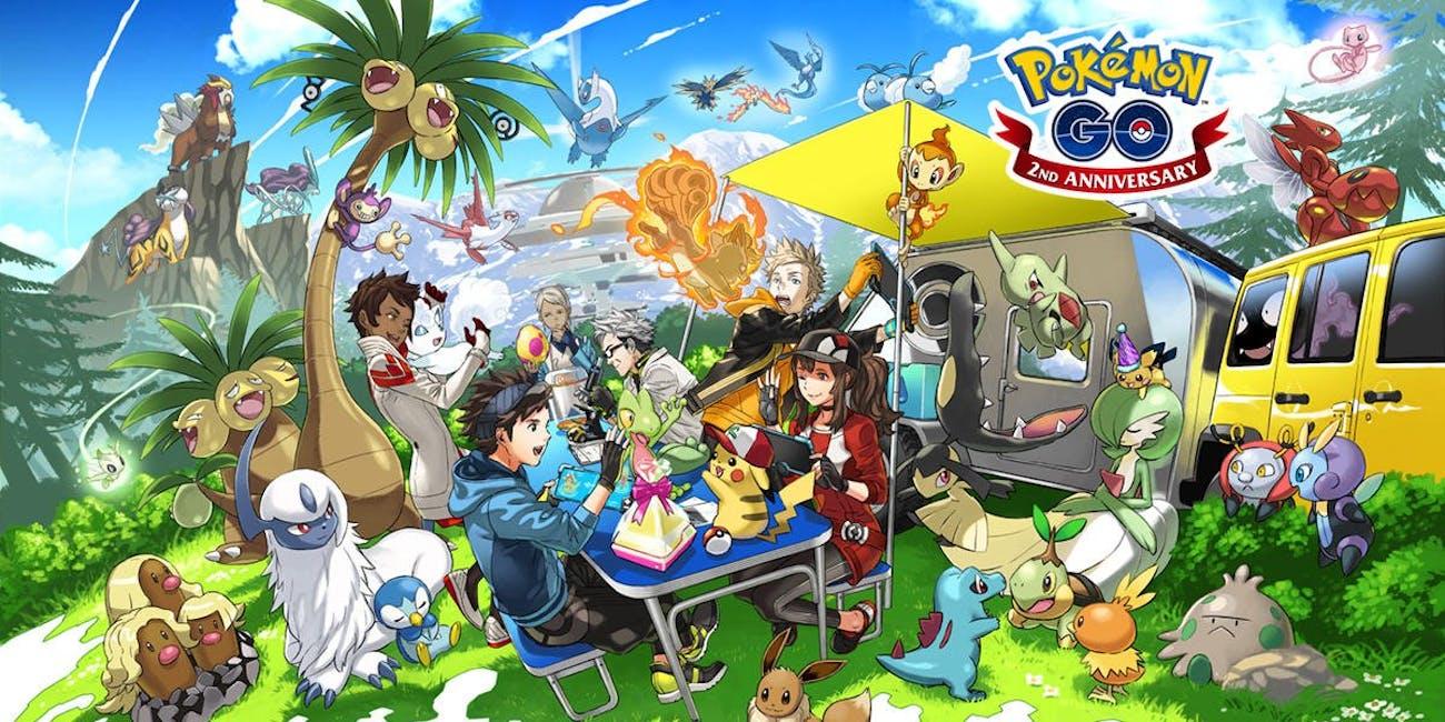 Pokemon Go Second Anniversary Gen 4