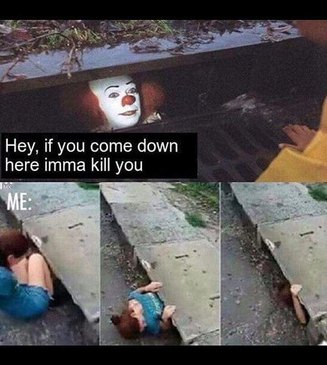 The 25 Best It Sewer Clown Memes Inverse