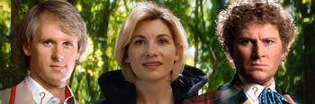 It's not exactly a three-Doctor confrontation anybody asked for, yet here it is.