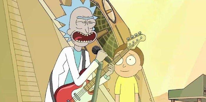 'Rick and Morty' music slays.