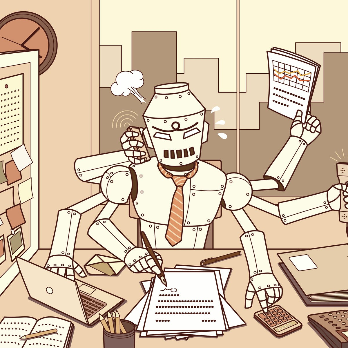 Human-like machines and machine-like humans are the future of A.I.