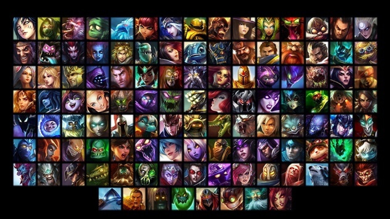 Champions in League of Legends