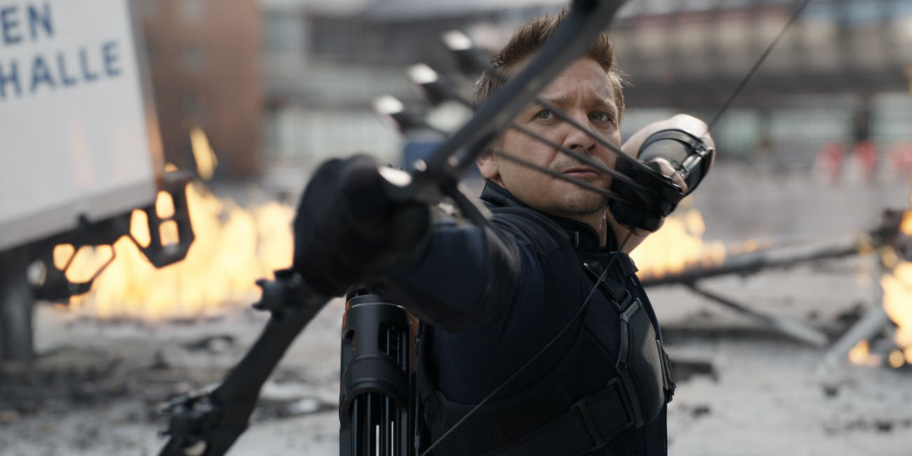Hawkeye Captain America Civil War