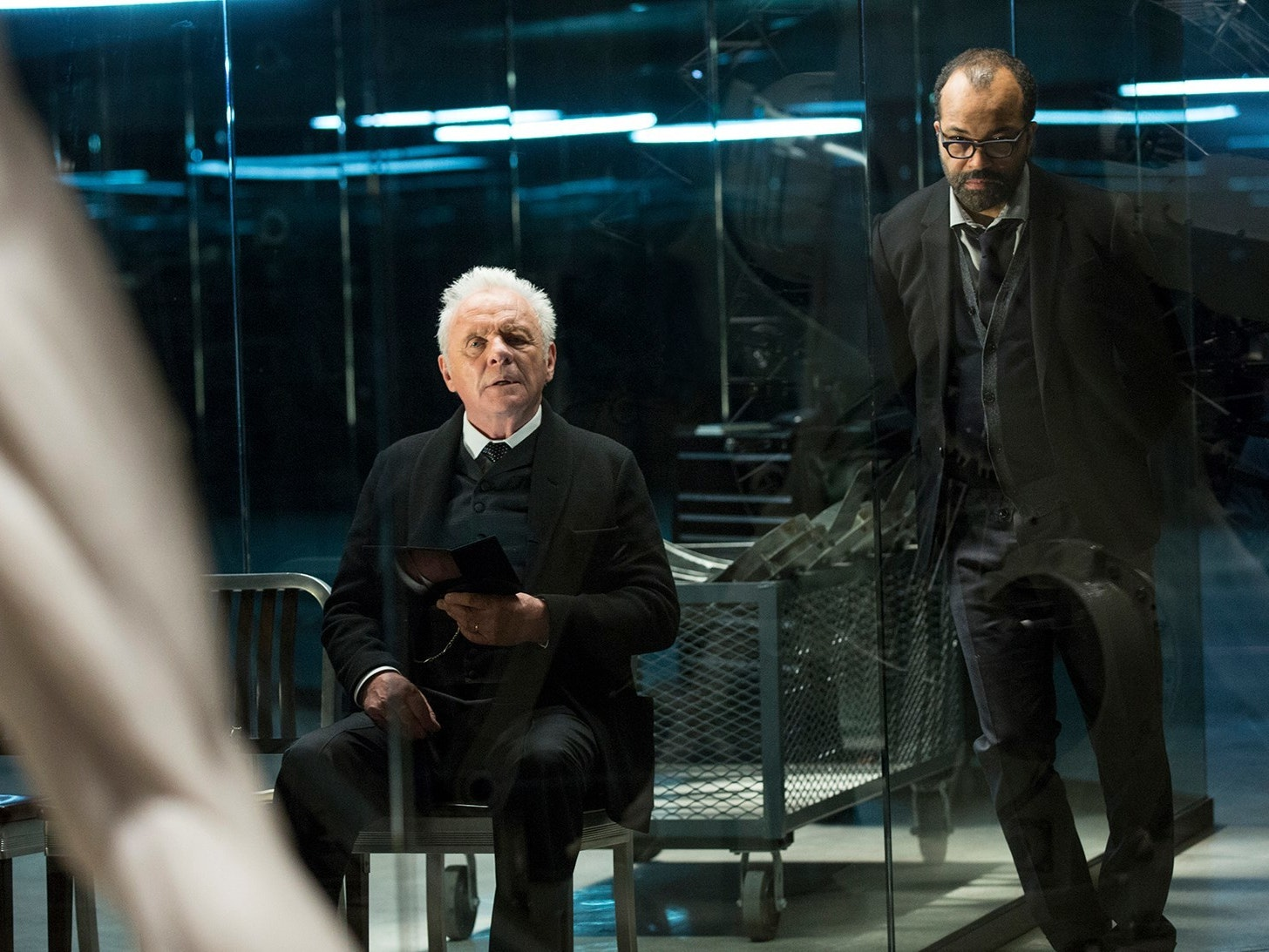 Breaking Down the 'Westworld' Underground Control Room Map