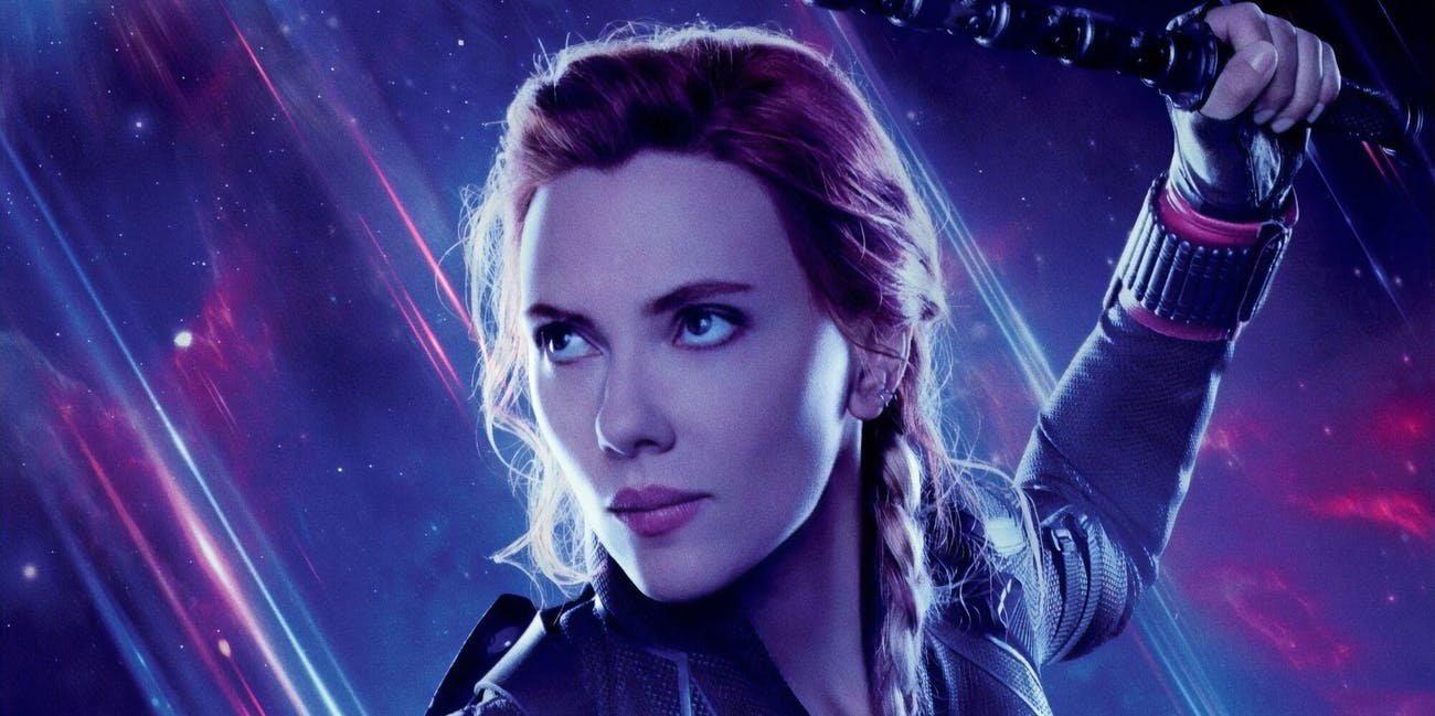 black widow avengers endgame