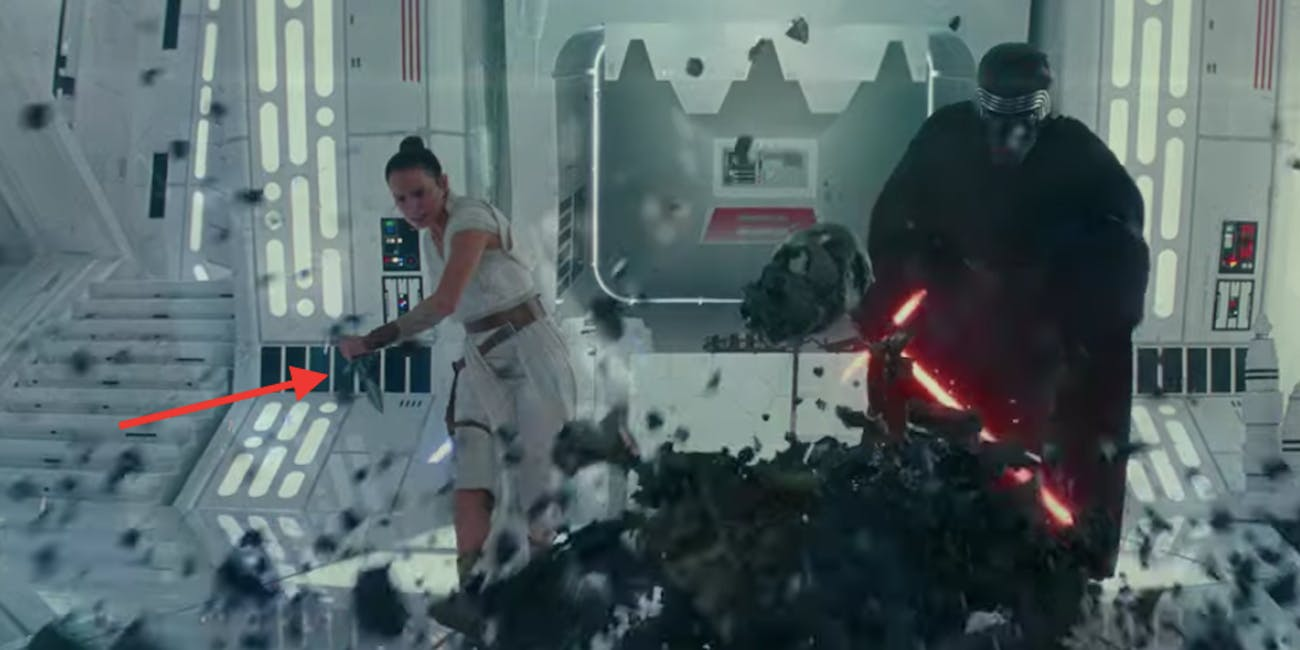 Rey is holding a secret dagger in 'The Rise of Skywalker' trailer