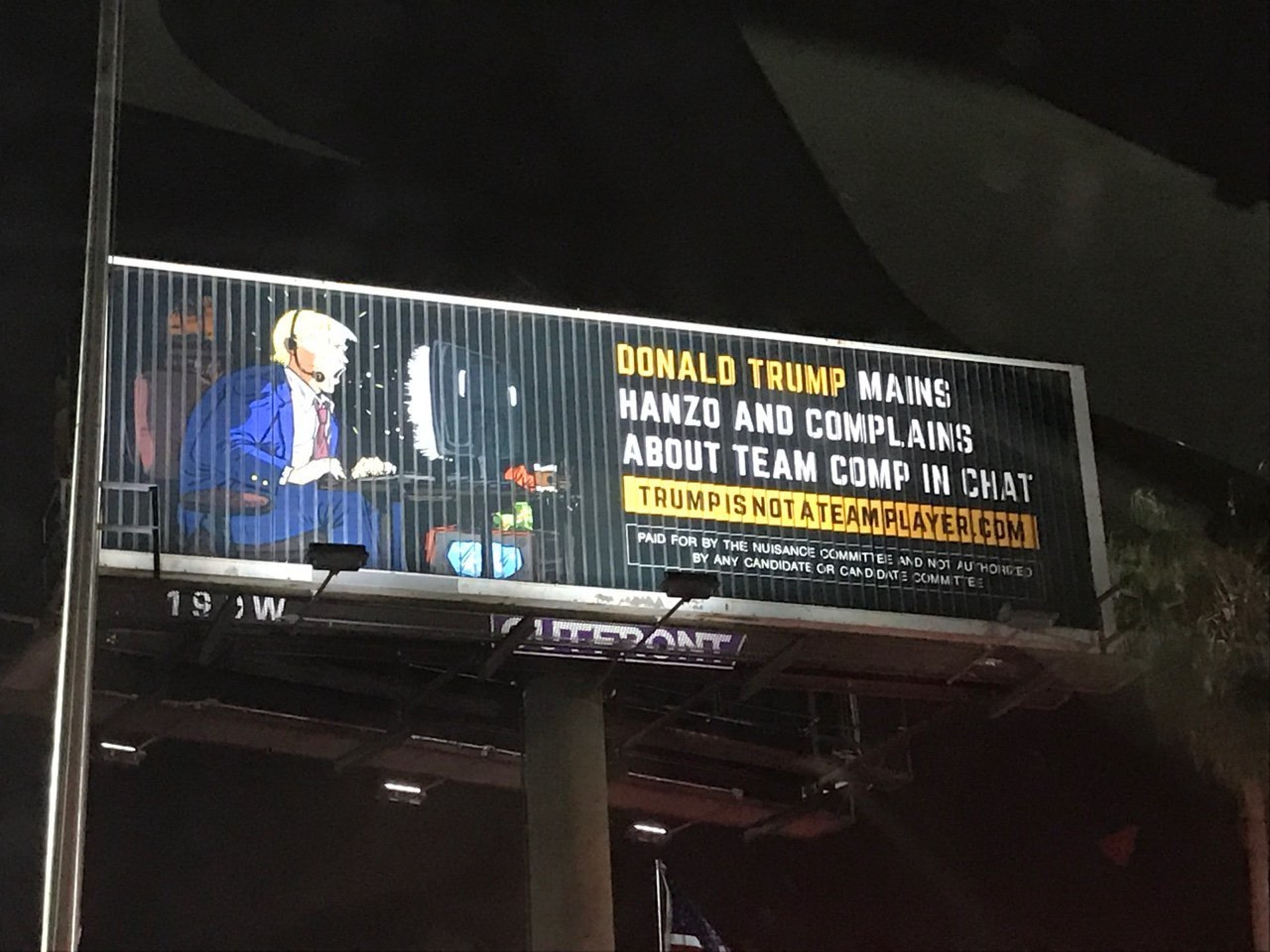 """""""Donald Trump mains Hanzo and Complains about Team Comp in Chat"""""""