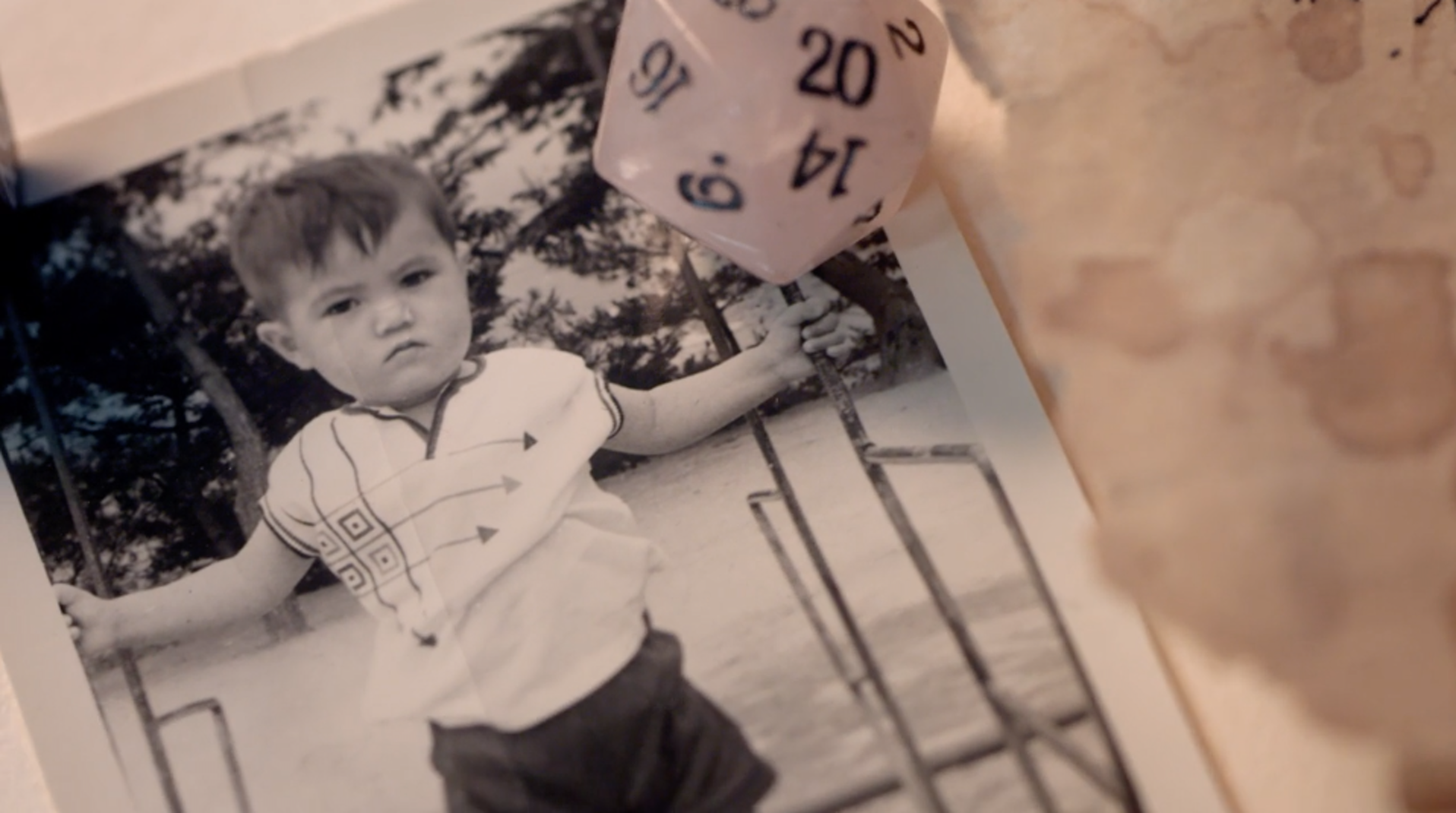 A shot from the film depicting Stefan Pokorny as a child.