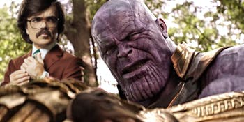 Peter Drinklage in 'Infinity War'