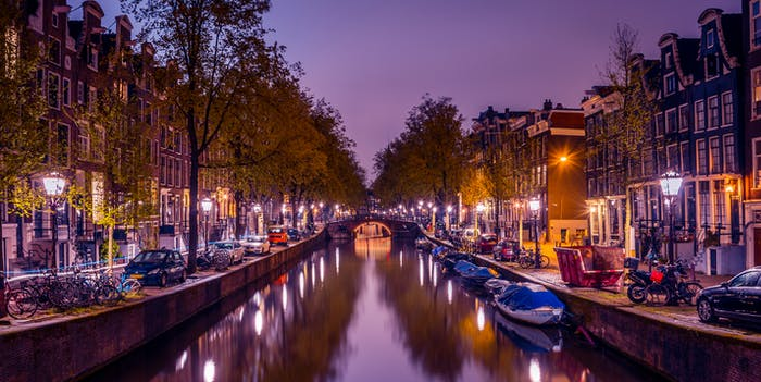 The Amsterdam Canal
