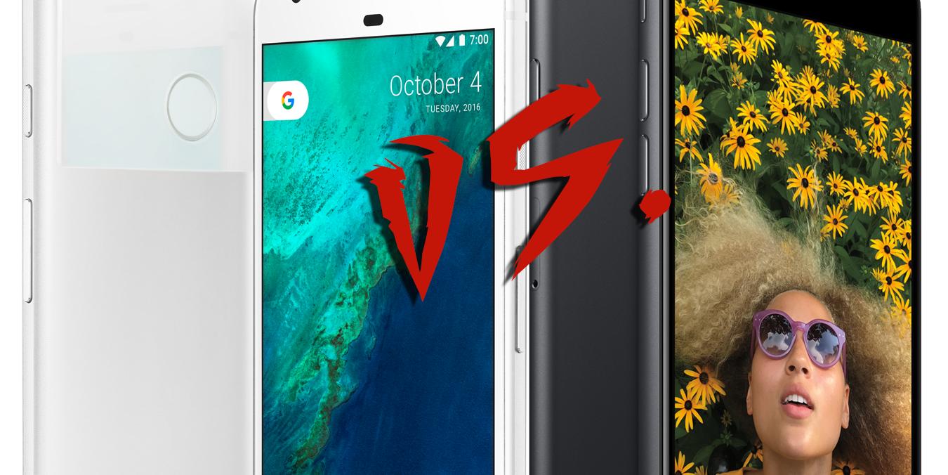 Apple Pixel versus iPhone 7: Who ya got?