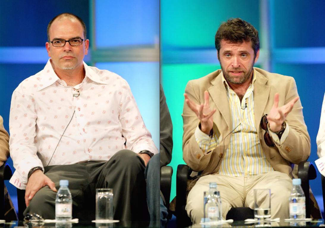 'Scream: The TV Series' showrunners Richard Register and Michael Gans.