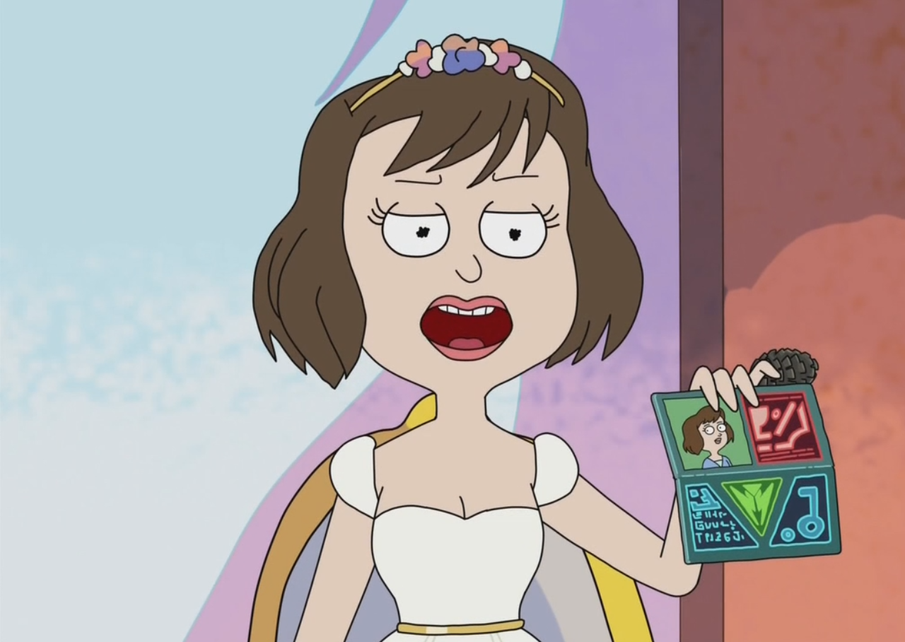 What if Tammy was placed at Morty's school because of all the zany scientific phenomenon there?