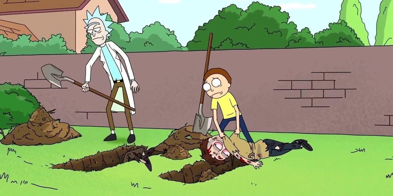 'Rick and Morty' at its most dark.