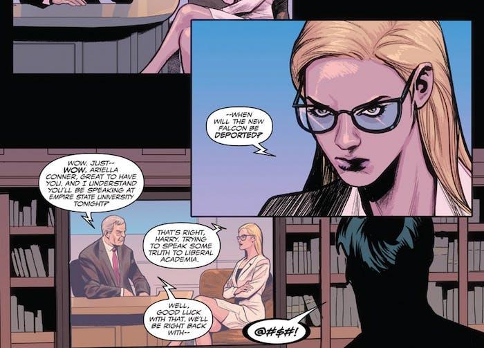 Sam Wilson Captain America #17 from Marvel Comics