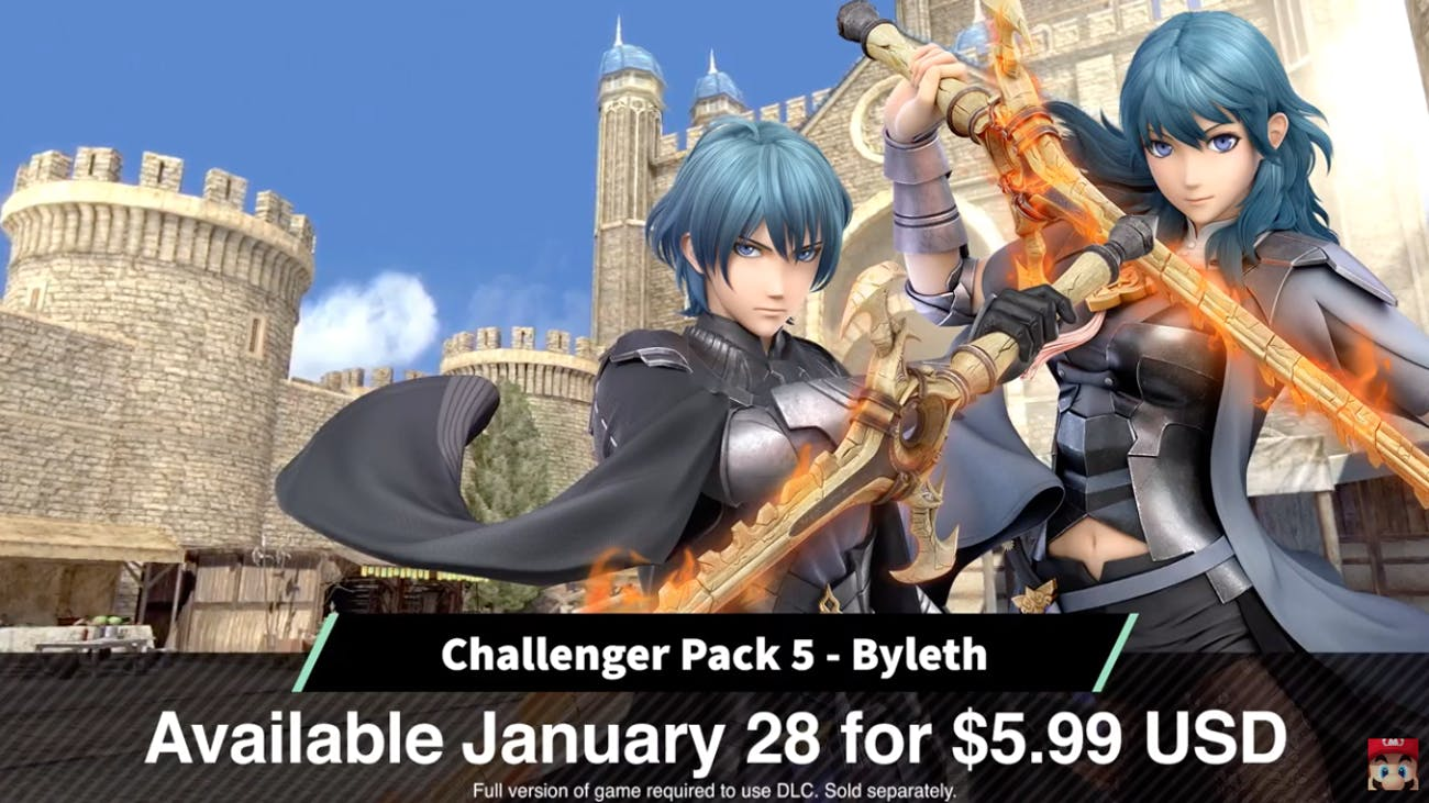 Byleth in 'Smash Bros. Ultimate'