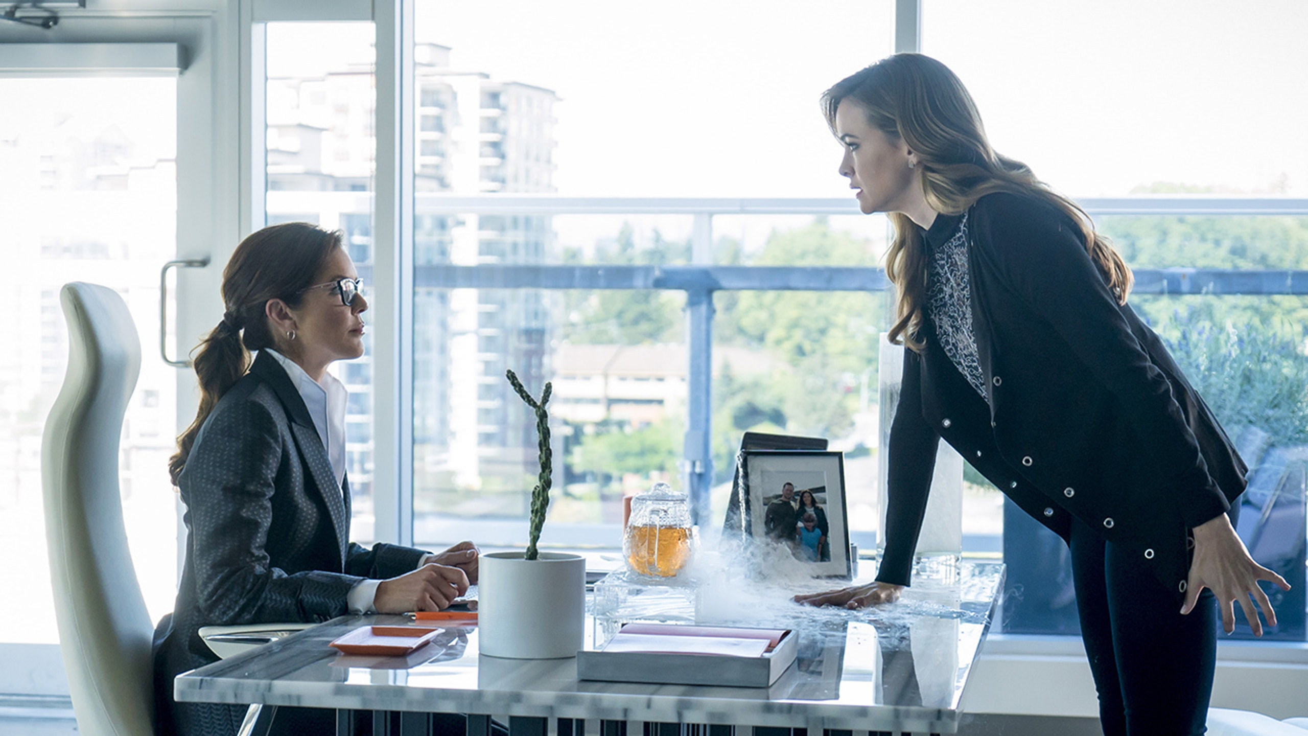 Caitlin confronts her mother and demands help with her Killer Frost powers.