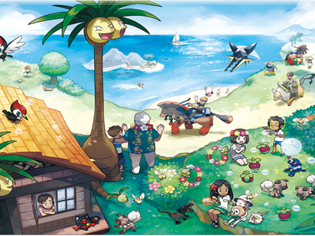 The New 'Pokemon' Demo Is a Delicious Taste of Island Life