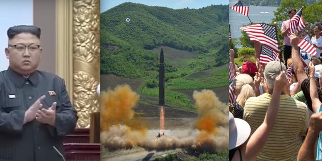 Missile Test ICBM