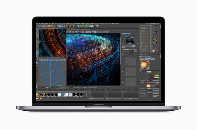 MacBook Pro can perform multiple tasks at once.