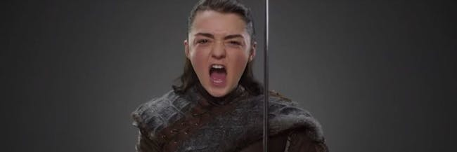 Arya as she'll appear in Season 7 of 'Game of Thrones.'