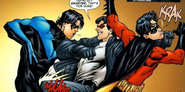 Teen Titans Dick Grayson Red Hood