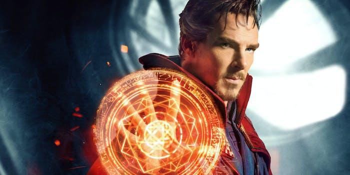 Benedict Cumberbatch as Doctor Strange in Marvel's 'Doctor Strange'