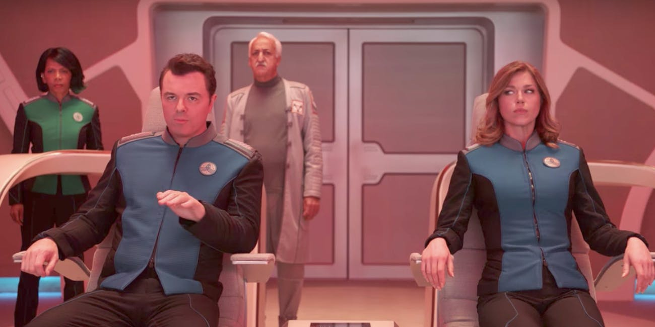 'The Orville' is a 'Star Trek' pastiche through and through.