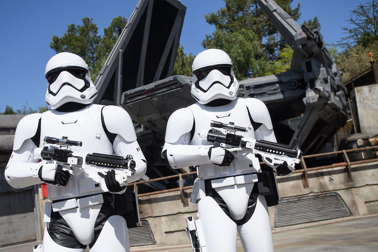 Star Wars Galaxy's Edge Stormtroopers