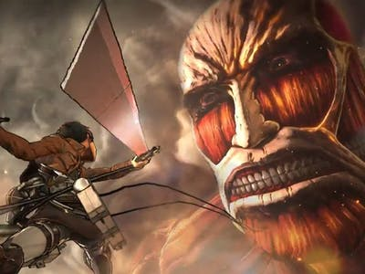 The 'Attack on Titan' Video Game Looks Exhausting