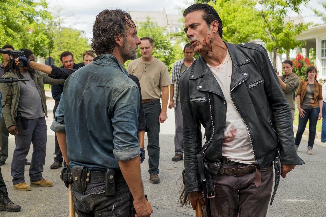Negan Walking Dead Jeffrey Dean Morgan